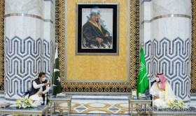 Le prince héritier Mohammed Bin Salman et Imran Khan