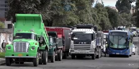 Manifestations et repression en Colombie suite à la réforme foncière