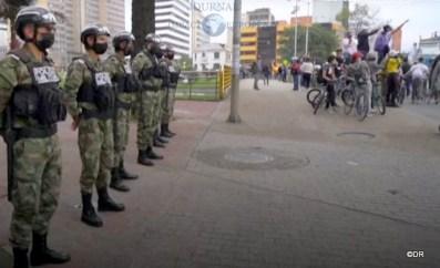 Manifestations et repression en Colombie suite à la réforme foncière 4