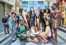 Mike Sylla présentée sa collection Afro-pop-art quartier Beaubourg