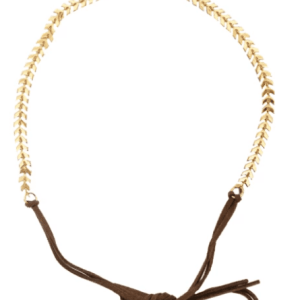 Gold Arrow Choker & Headband