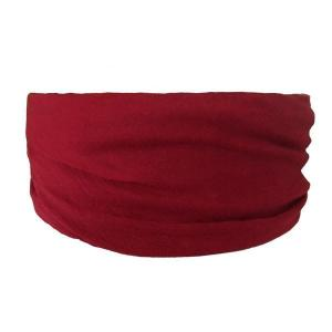 Burgundy Tube Turban