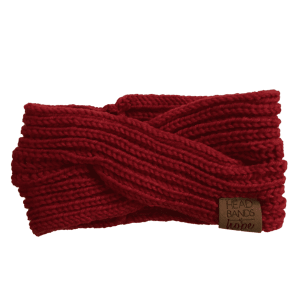 Criss Cross Knitted in Red