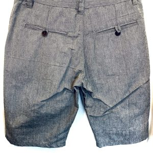 Handmade Linen Shorts – Grey 34