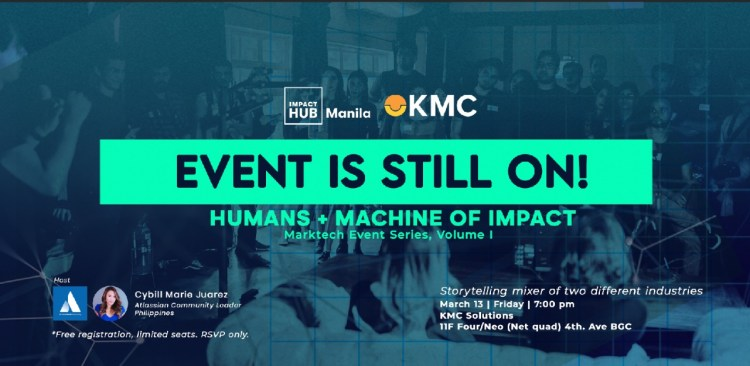 Announcement: Humans + Machines of IMPACT: MarkTech Edition