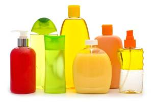 personal care product bottles