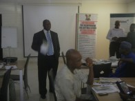 Hon. Bamigbetan addressing participants at the workshop