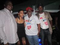 Hon. Akinsola and Barr Ogunleye with Chidimma