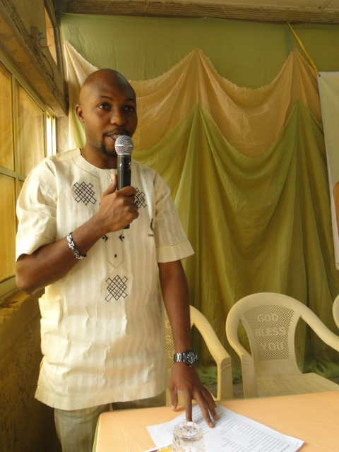 Mr Adedoyin, the Managing Consultant, Hicare Health Nigeria at the event