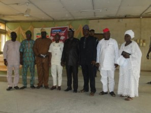 Hicare Health officials with the officials Ikorodu LG and invited guets in group photograph