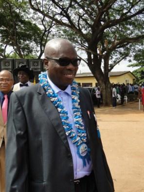 Former Rector, Ayodeji Iginla
