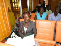 Kehinde Adelabu, a conferecee and paper presenter in the ongoing conference