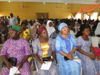 cross section of the parents/guardians at the programme
