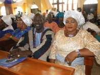 High Chief & Olori Onasanya during the Service