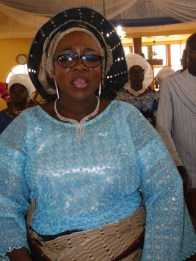 Mrs Beatrice Basirat Bakare, daughter of the deceased