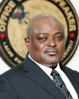Speaker, Lagos State House of Assembly, Rt. Hon. Mudashiru Obasa