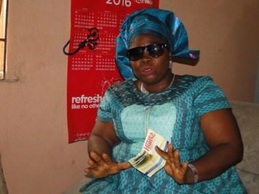 Mrs Abiola Soaga, the Vice Chairman, Agodo-Segun