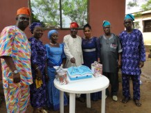 Celebrant with IKODASS Chieftains