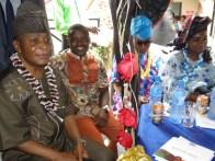 Dr Abolade Adeniji Harrison, President Ikorodu Club (L), Hon. Japheth Odesanya, former SLG, Ikorodu LG and Princess Olabanji-Oba