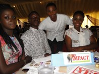 THE IMPACT crew at the event