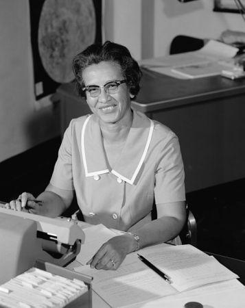 Katherine Johnson in 1966