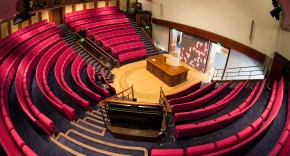 Photograph of The Royal Institution Faraday Lecture Theatre