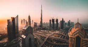 Photo of the city of Dubai