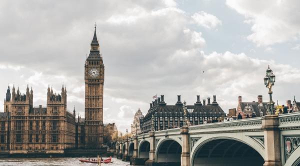 Image of Westminster Bridge and Big Ben in London