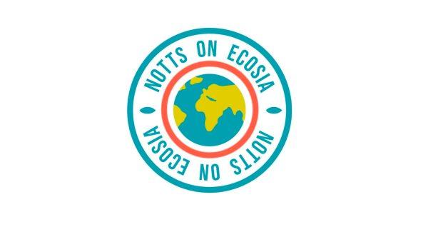 Photo of Nottingham on ecosia campaign logo
