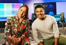 Gloria Estefan y Carlos Rivera