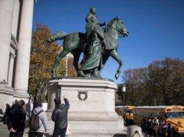 estatua de Theodore Roosevelt