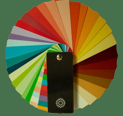 kleurenwaaier lentetype