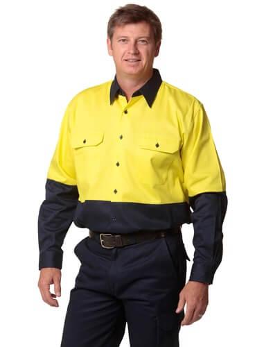 Impact Teamwear - Long Sleeve Work Shirt