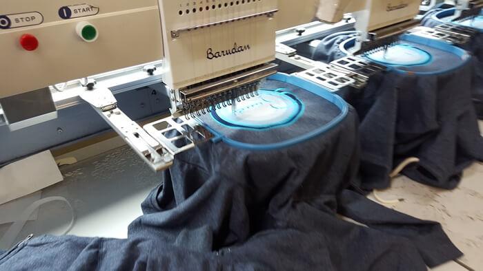 Impact Teamwear - Embroidery Sample