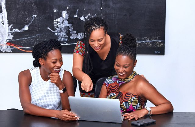 Canva – Three Women Looking At The Computer
