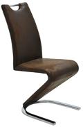 MF-5308 fémvázas, kárpitozott szék