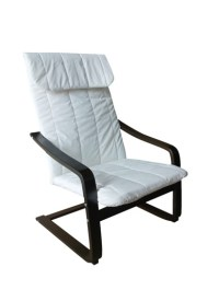 MF-4261 relax fotel natúr, chocolate