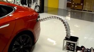 Tesla prototype charger