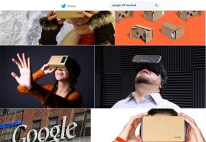 Google's Virtual Reality Headset -VR