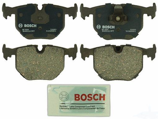 BOSCH QUIETCAST REAR BRAKE PAD SET BMW 740i iL