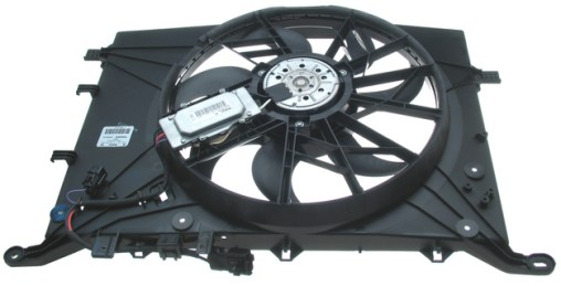 AUXILIARY FAN ASSEMBLY, W/CONTROLLER