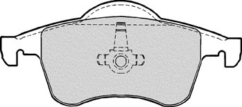 PBR DELUXE BRAKE PAD SET (4)