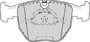 PBR DELUXE FRONT BRAKE PAD SET