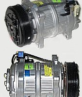 A/C COMPRESSOR (NEW W/CLUTCH)