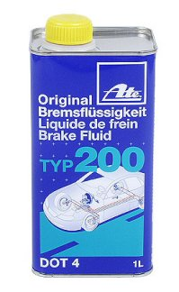 ATE TYPE 200  BRAKE FLUID 1 LITER CAN