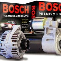 BOSCH REMANUFACTURED ALTERNATORS, STARTERS 163 CHASSIS 1998-2005