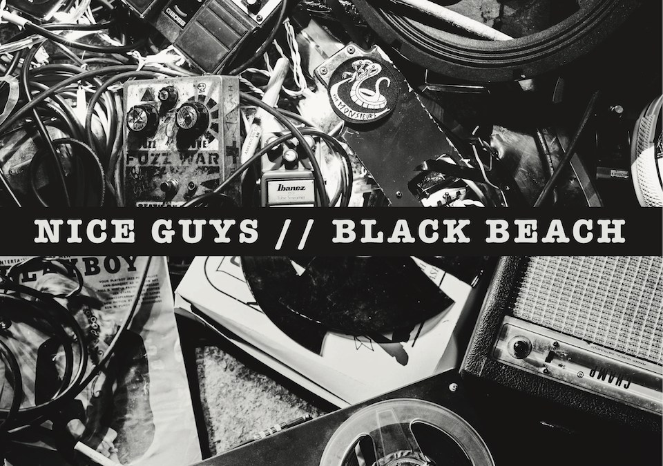 black beach + nice guys, NICE GUYS/BLACK BEACH SPLIT 7″