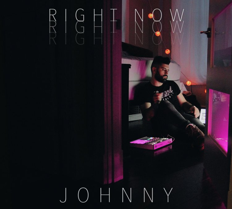 "johnny shares exclusive ""driven"" playlist, self-produces video for ""right now"""
