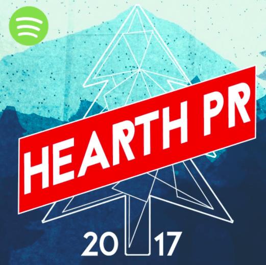 hearthpr 2017 spotify playlist