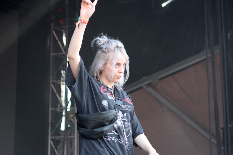 billie eilish @ bonnaroo 2018